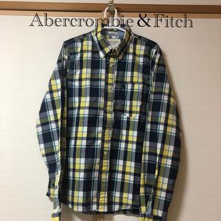 アバクロンビーアンドフィッチ(Abercrombie&Fitch)のAbercrombie&Fitch  チェックシャツ Lサイズ(シャツ)