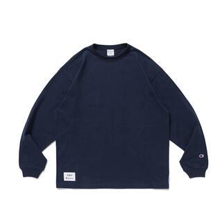 ダブルタップス(W)taps)のWTAPS×Champion ロングスリーブTシャツ(C8-T410)(Tシャツ/カットソー(七分/長袖))