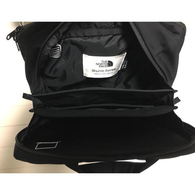 THE NORTH FACE(ザノースフェイス)のノースフェイス シャトルデイパックスリム メンズのバッグ(バッグパック/リュック)の商品写真