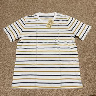 ムジルシリョウヒン(MUJI (無印良品))のMUJI 無印良品 ボーダー Tシャツ Mサイズ(Tシャツ/カットソー(半袖/袖なし))