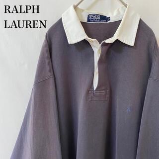 ラルフローレン(Ralph Lauren)の★90s vintage ポロバイラルフローレン ポロシャツ チャコールグレー(ポロシャツ)