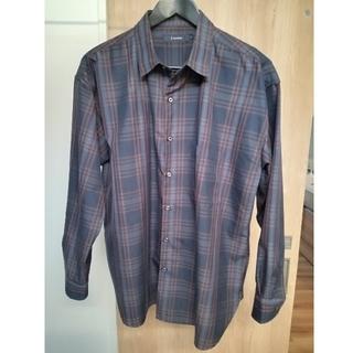 レイジブルー(RAGEBLUE)のRAGEBLUE TRビッグシルエットチェックシャツ(シャツ)