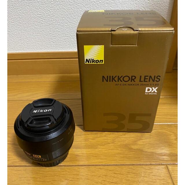 Nikon(ニコン)のAF-S DX NIKKOR 35mm F1.8G スマホ/家電/カメラのカメラ(レンズ(単焦点))の商品写真