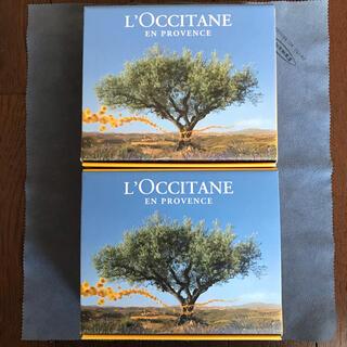 ロクシタン(L'OCCITANE)の★L''OCCITANE「ロクシタン ショップ 空箱×2」難あり中古品★(ショップ袋)