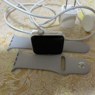 Apple - Apple Watch series 3 シルバー 42mm GPSモデル