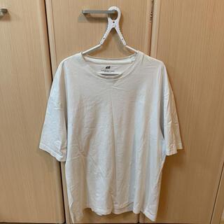 エイチアンドエム(H&M)の白 Tシャツ H&M(Tシャツ/カットソー(半袖/袖なし))