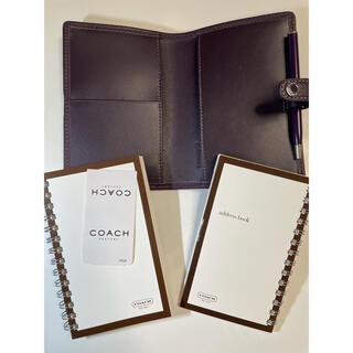 コーチ(COACH)の【新品・未使用】コーチ COACH 本革 手帳カバー(その他)