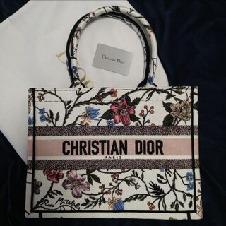 Dior - クリスチャンディオール ブックトート ローザムタビリス