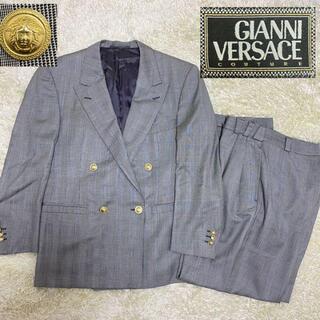 ジャンニヴェルサーチ(Gianni Versace)のジャンニヴェルサーチ セットアップ スーツ 金ボタン ダブル メデューサ(セットアップ)