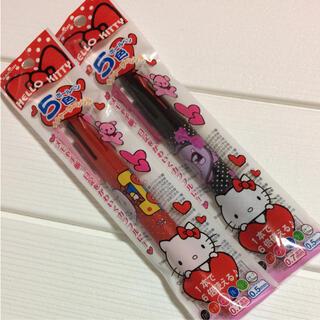 セーラー(Sailor)のキティ5色ボールペン+シャープペンシル 赤黒2本(ペン/マーカー)