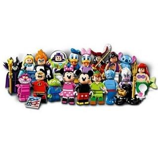 Lego - 新品 全18種 フルコンプ 未使用 未組立 ディズニー 71012 ミニフィグ