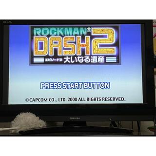 プレイステーション(PlayStation)のpsソフト ロックマンダッシュ1.2 2本セット(家庭用ゲームソフト)