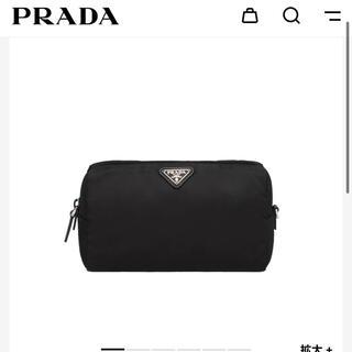 PRADA - PRADA ポーチ ブラック
