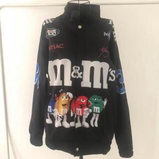 シュプリーム(Supreme)の新品 ブラック m&m's チョコレート ブルゾン スタジャン ヴィンテージ古着(ライダースジャケット)