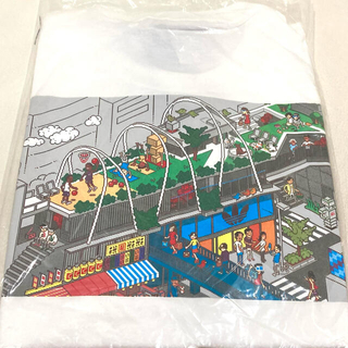 adidas - adidas × eboy ピクセルアート Tシャツ 白 ホワイト