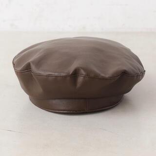 フーズフーチコ(who's who Chico)のベレー帽(ハンチング/ベレー帽)
