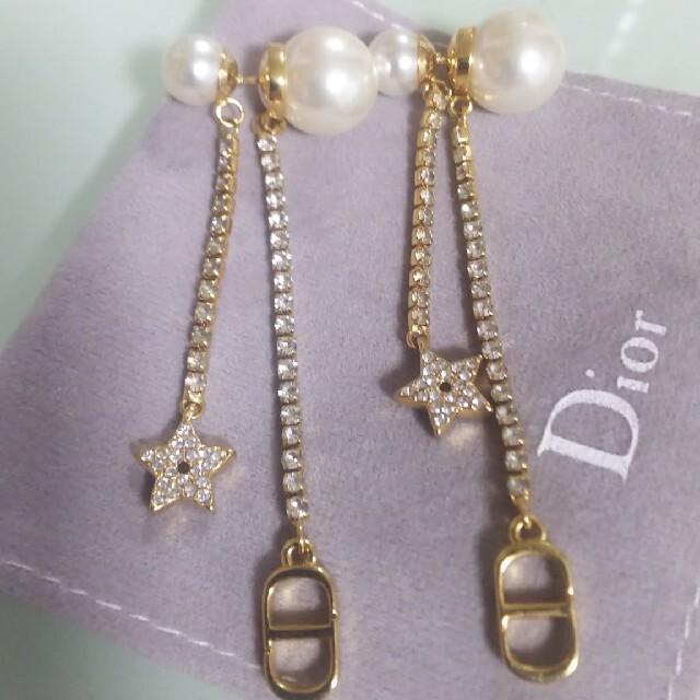 Dior(ディオール)の値下げ不可!美品❤️ディオールピアス レディースのアクセサリー(ピアス)の商品写真