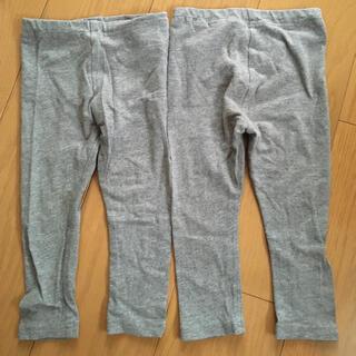 ムジルシリョウヒン(MUJI (無印良品))のMUJI 80 レギンス グレー (パンツ)