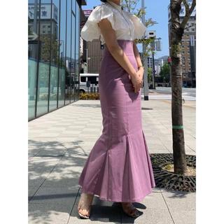 snidel - タグ付き新品 ♡ スナイデル ハイウエストヘムフレアスカート