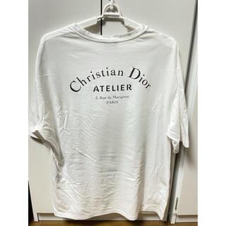 Christian Dior - Dior Homme ディオールオム アトリエ Tシャツ 18ss ホワイト