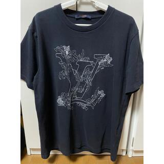 LOUIS VUITTON - LOUIS VUITTON エンブロイダリーLVフラワーTシャツ モノグラム