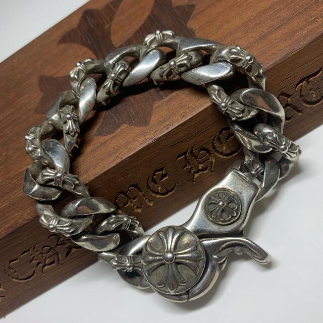 """Chrome Hearts(クロムハーツ)の""""美品"""" クロムハーツ ファンシーリンクブレスレット 13リンク メンズのアクセサリー(ブレスレット)の商品写真"""