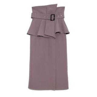 snidel - タグ付き新品♡ スナイデル ONLINE限定 コルセットベルトタイトスカート