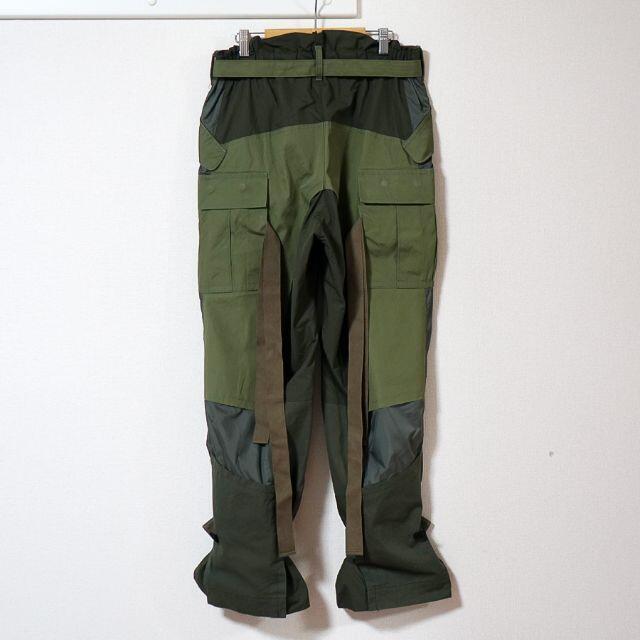 sacai(サカイ)のsacai / FABRIC COMBO PANTS / サイズ1 20-022 メンズのパンツ(ワークパンツ/カーゴパンツ)の商品写真