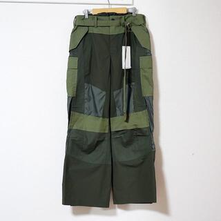 sacai - sacai / FABRIC COMBO PANTS / サイズ1 20-022