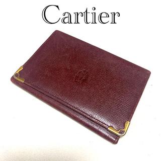 カルティエ(Cartier)のCartier パスケース(名刺入れ/定期入れ)