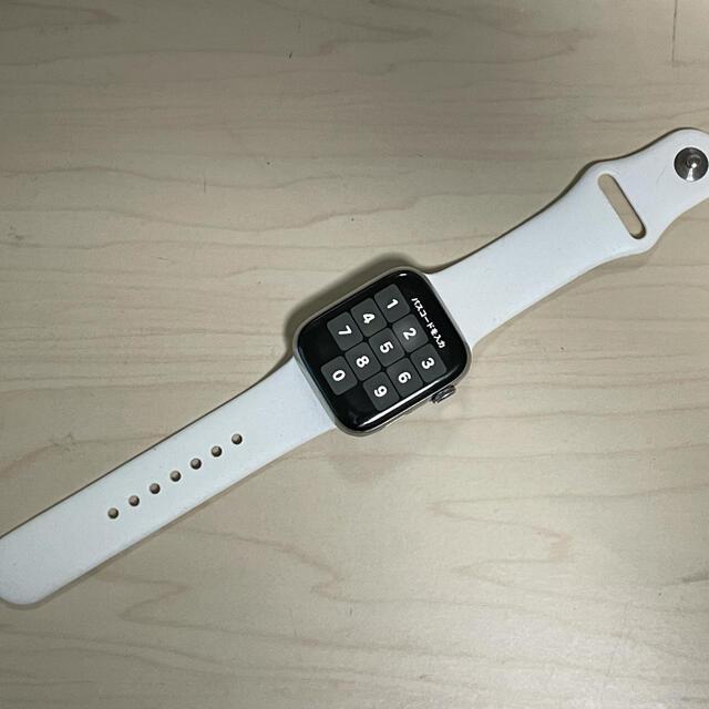 Apple Watch(アップルウォッチ)の訳あり Apple Watch Series 4 44mm ステンレス シルバー スマホ/家電/カメラのスマホアクセサリー(その他)の商品写真