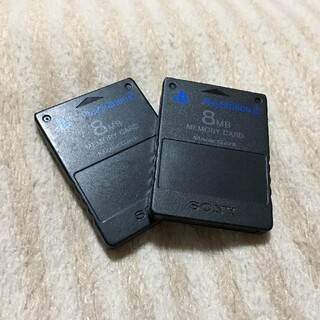 PlayStation2 - プレイステーション2 メモリーカード SONY純正