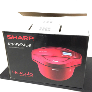 シャープ(SHARP)のSHARP シャープ ヘルシオホットクック KN-HW24E-R(調理機器)