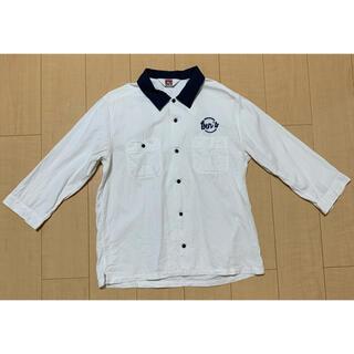 ベンデイビス(BEN DAVIS)のBEN DAVIS 7分ワークシャツ サイズL(シャツ)