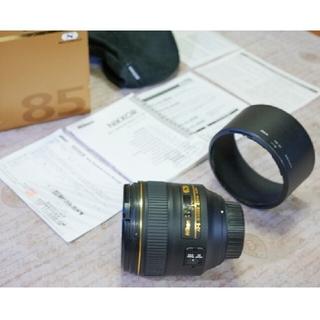 Nikon - 美品 送料無料 Nikon AF-S NIKKOR 85mm F1.4 G