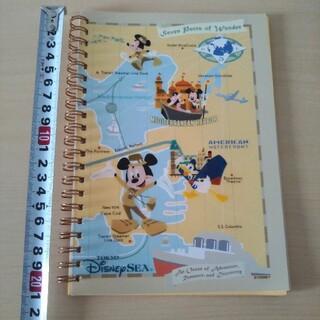 Disney - ディズニーシー リングノート メモ帳