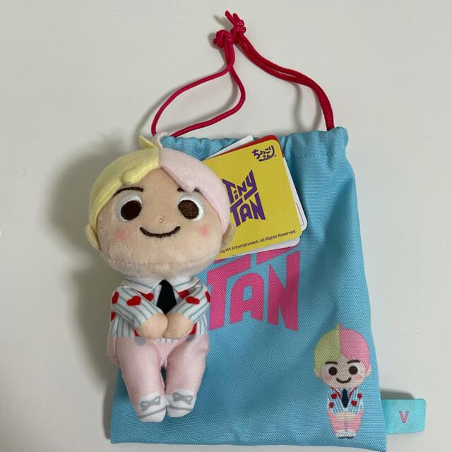 防弾少年団(BTS)(ボウダンショウネンダン)のBTS TinyTan ちょっこりさん V テヒョン taehyung エンタメ/ホビーのCD(K-POP/アジア)の商品写真