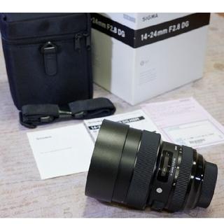 シグマ(SIGMA)の美品 送料無料 シグマ SIGMA 14-24mm F2.8 DG DN Art(レンズ(ズーム))