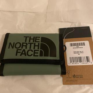 THE NORTH FACE - ノースフェイス ベースキャンプウォレット 3つ折り財布 グリーン