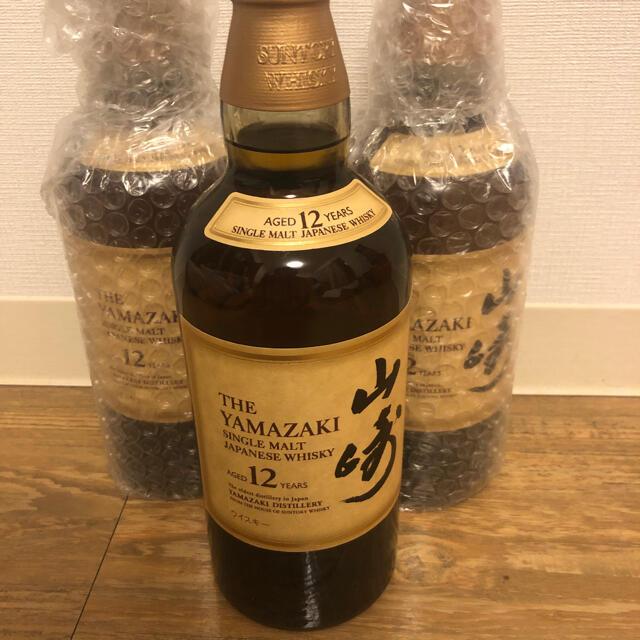 サントリー(サントリー)のサントリー山崎 12年 3本 食品/飲料/酒の酒(ウイスキー)の商品写真