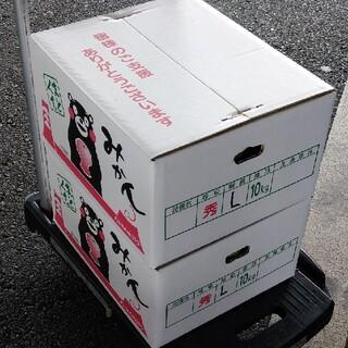 20キロSサイズ【送料こみ】熊本極早生みかん肥のあかり20kg酸味薄く食べやすい