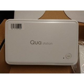 au - 【HDD無し】au Qua station KTS31 ホワイト