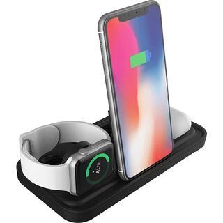 ワイヤレス充電器 急速 iPhone Airpods Apple Watch