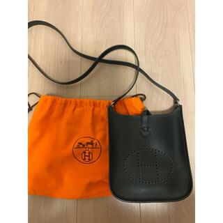 Hermes - 週末限定最終値下 極美品 エルメス エブリン tpm ブラック 保存袋 刻印