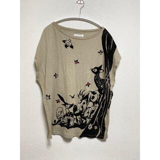 ツモリチサト(TSUMORI CHISATO)のツモリチサト Tsumori Chisato 森のカーテン Tシャツ カットソー(Tシャツ(半袖/袖なし))