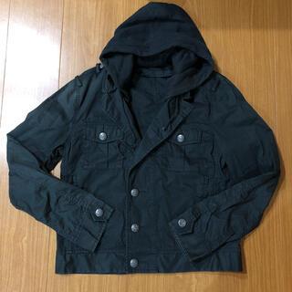 レイジブルー(RAGEBLUE)のRAGE BLUE   フード付きジャケット(ミリタリージャケット)