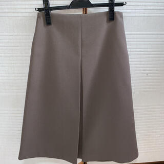 アクアガール(aquagirl)の新品 アクアガール カーキ 台形 ボックススカート(ひざ丈スカート)