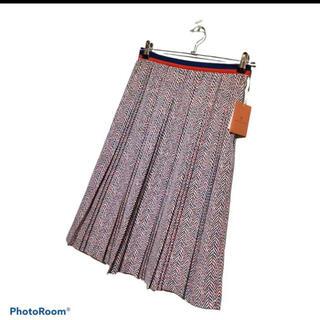 ユナイテッドアローズ(UNITED ARROWS)の値下!UNITED ARROWS 新品未使用 プリーツスカート サイズ40(ひざ丈スカート)