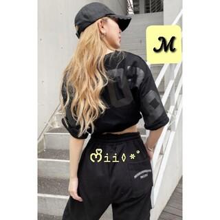 ジェイダ(GYDA)の▷MIRROR9◁  ICON Tshirt / BLACK /ℳ(Tシャツ(半袖/袖なし))