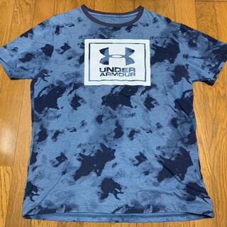 UNDER ARMOUR - 【used】アンダーアーマー Tシャツ ヒートギア カモ柄  XL